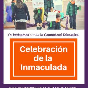 Celebración de la Inmaculada, 5 de diciembre