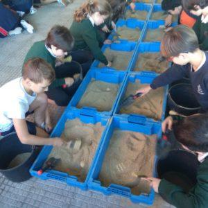 ¡Arqueólogos por un día!