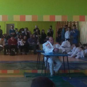 Examen de cinturón de Judo