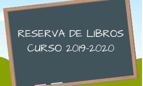 Reserva de libros curso 2019-2020