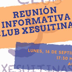 Abierto plazo de inscripción CLUB XESUITINAS