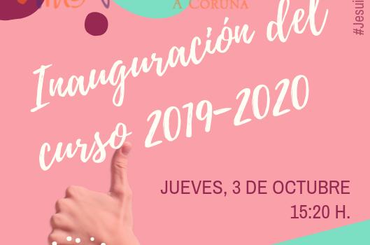 Invitación inauguración del curso 2019-2020