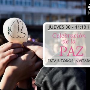 Invitación a la Celebración de la PAZ