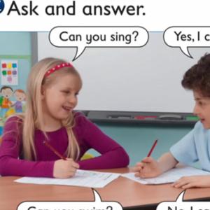 1st Primary Speak English is fun