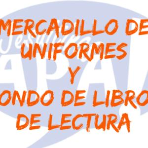 MERCADILLO DE UNIFORMES Y FONDO DE LIBROS DE LECTURA – APA