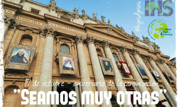 X Aniversario de la Canonización de la Madre Cándida.