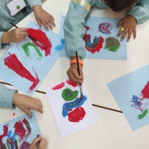 ¡Artistas de 4 años!