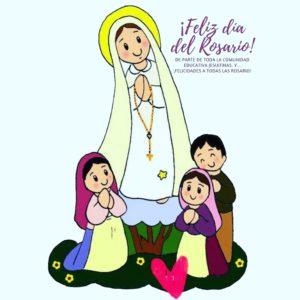 ¡Feliz día de Nuestra Señora del Rosario!